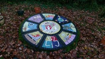 Centenary mosaic
