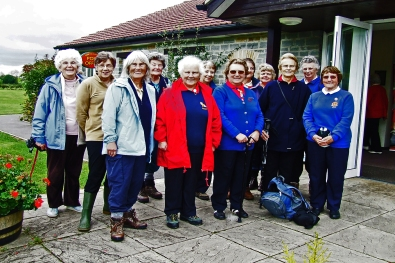 Activity day walking group
