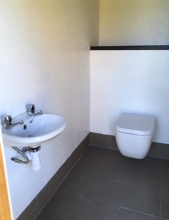 Photo of toilet facilities on campsite