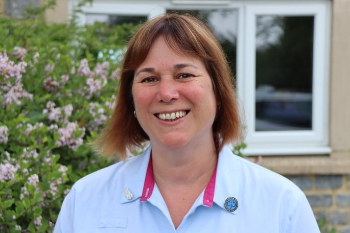 Photo of Bev Osborne, County Commissioner, Girlguiding Somerset